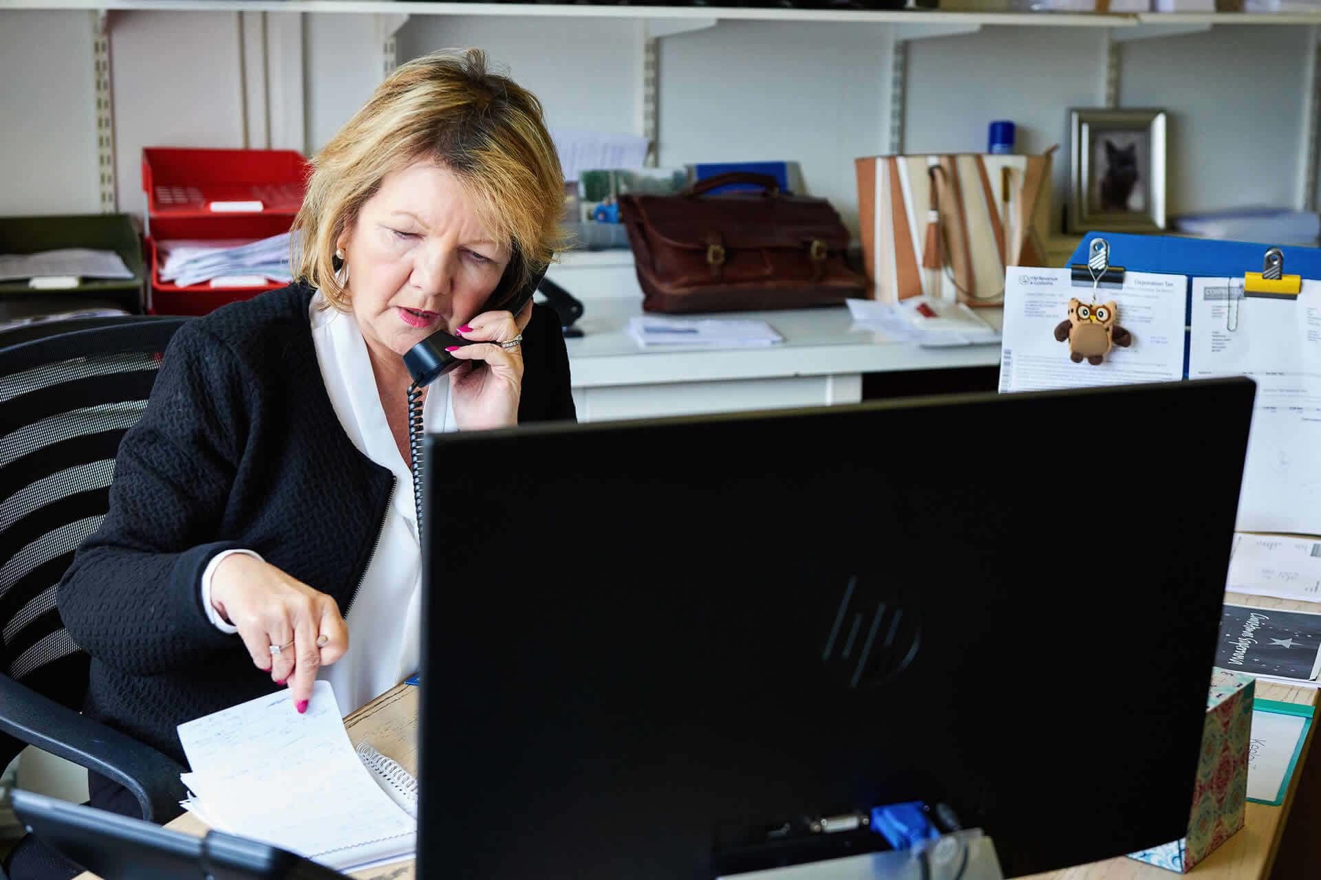 elaine barish, financial director at corprotex