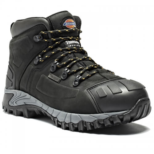 Black Portwest safety boots